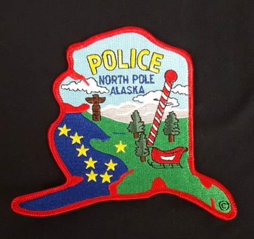 North Pole Police Shoulder Patch